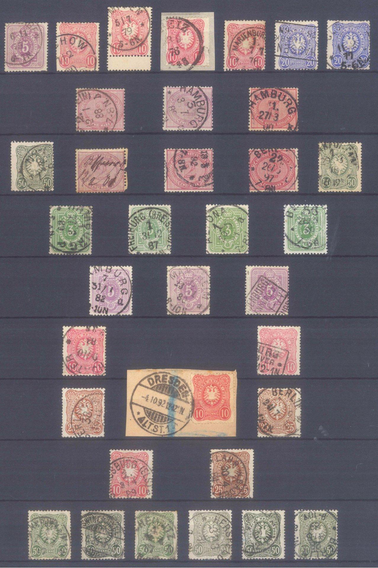 DEUTSCHES REICH – PFENNIG(E) 1875/80, KW 450,- Euro
