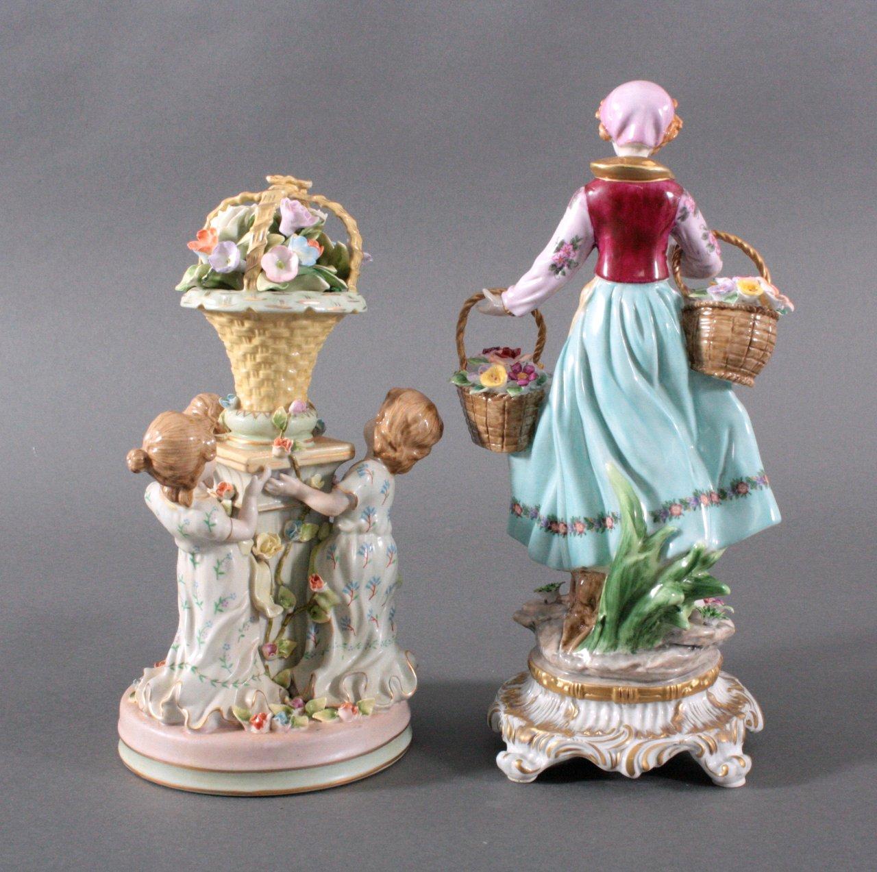 2 Porzellanskulpturen, Fanatsiemarken-1