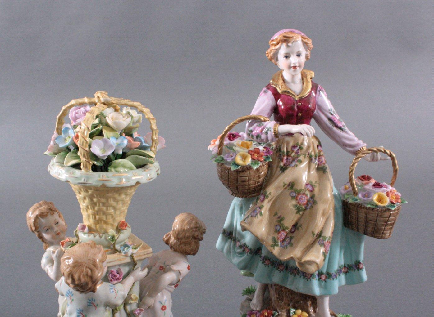 2 Porzellanskulpturen, Fanatsiemarken-2
