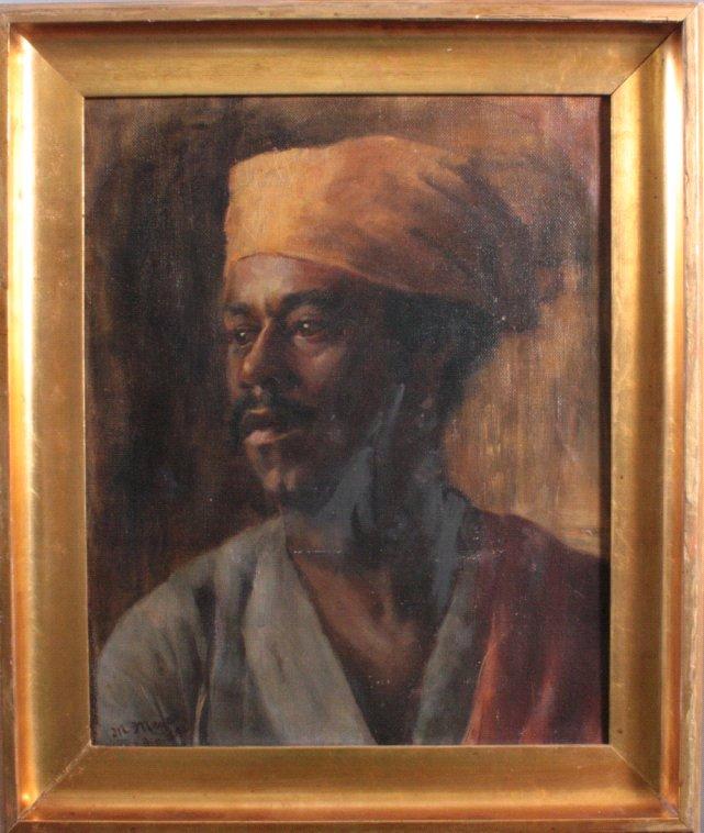 Marcus Mayer ?-?, Portraitmaler des 19. Jh.-1