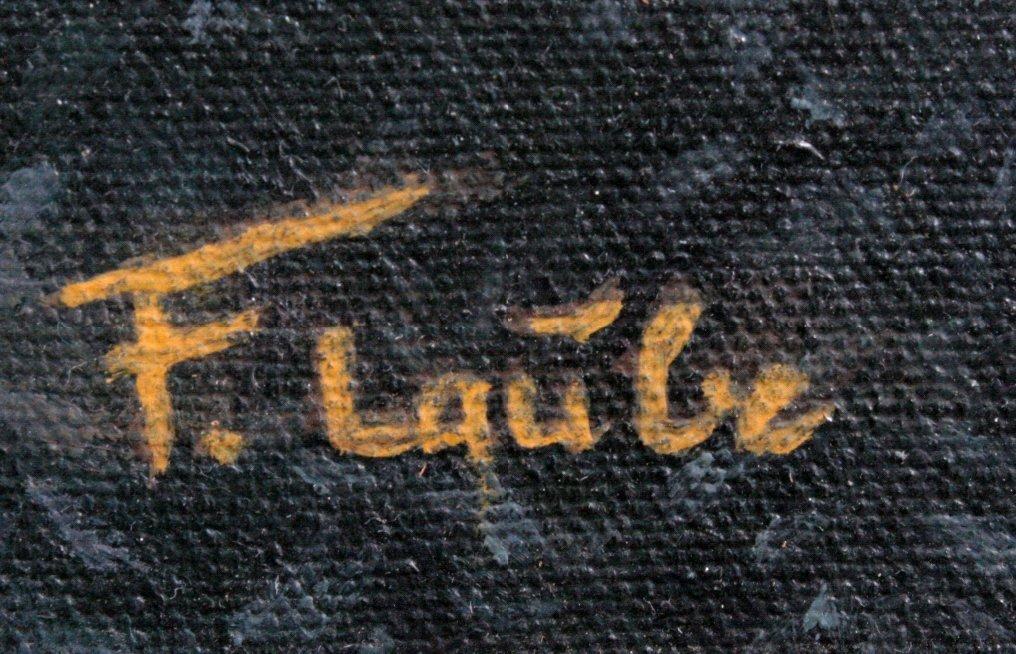 F. Laube (1914-1993), Afrikanischer Wasserbüffel-1