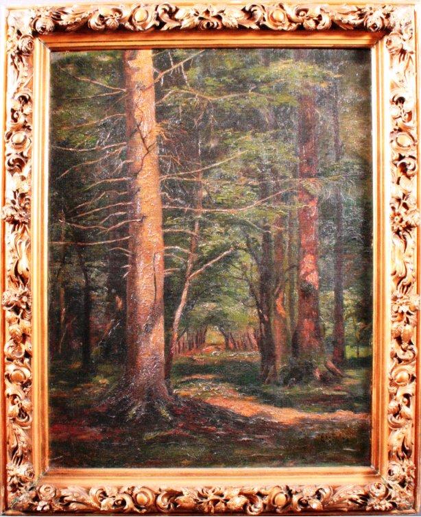 Per Ekström 1844-1935, Waldlandschaft