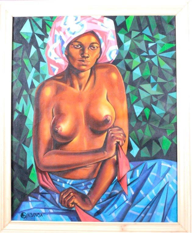 """Albano Sousa 1921-1995, """"Afrikanerin"""""""