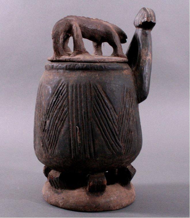 Fetischbehälter, Bamum/Kamerun, 1. Hälfte 20. Jh.