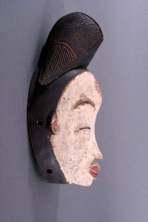 Maske der Punu, Gabun/Zentralafrika, 1. Hälfte 20. Jh.-1