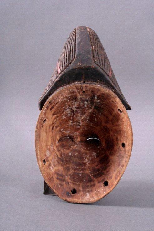 Maske der Punu, Gabun/Zentralafrika, 1. Hälfte 20. Jh.-2