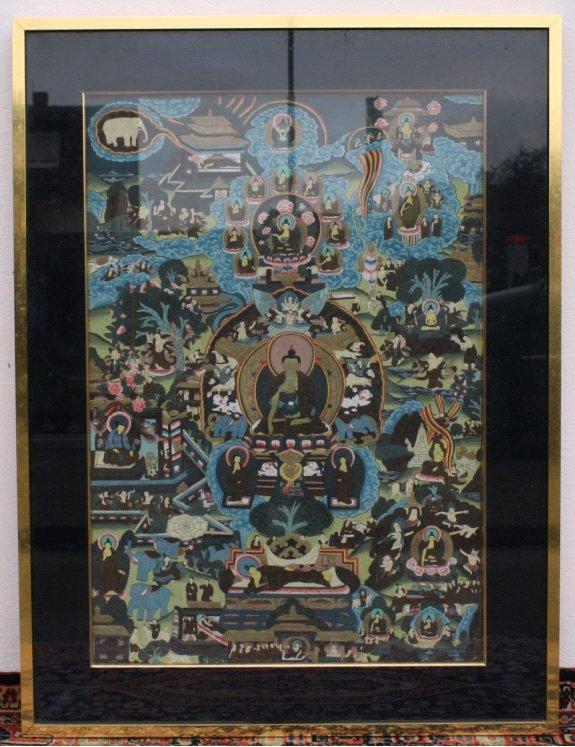 Thanka, Tibet 20. Jh,