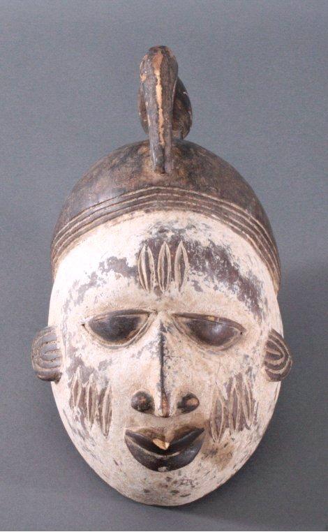 Maske der Baule, Elfenbeinküste