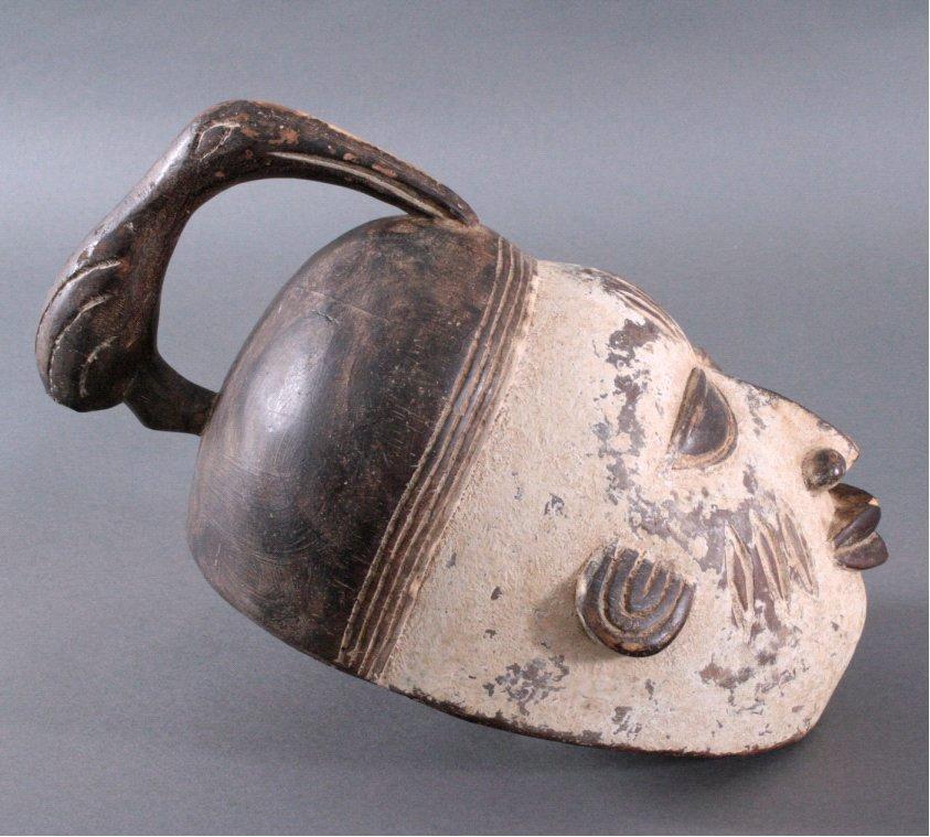 Maske der Baule, Elfenbeinküste-1