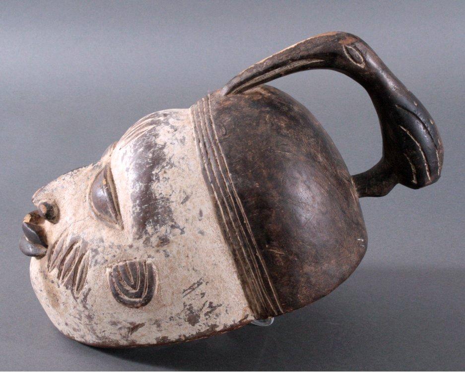 Maske der Baule, Elfenbeinküste-2