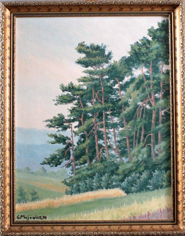 G. Majewicz, Waldlandschaft
