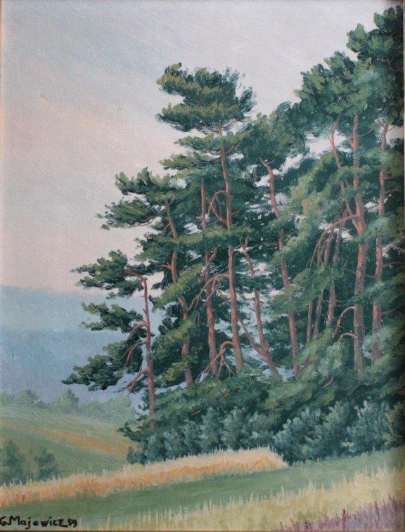 G. Majewicz, Waldlandschaft-1