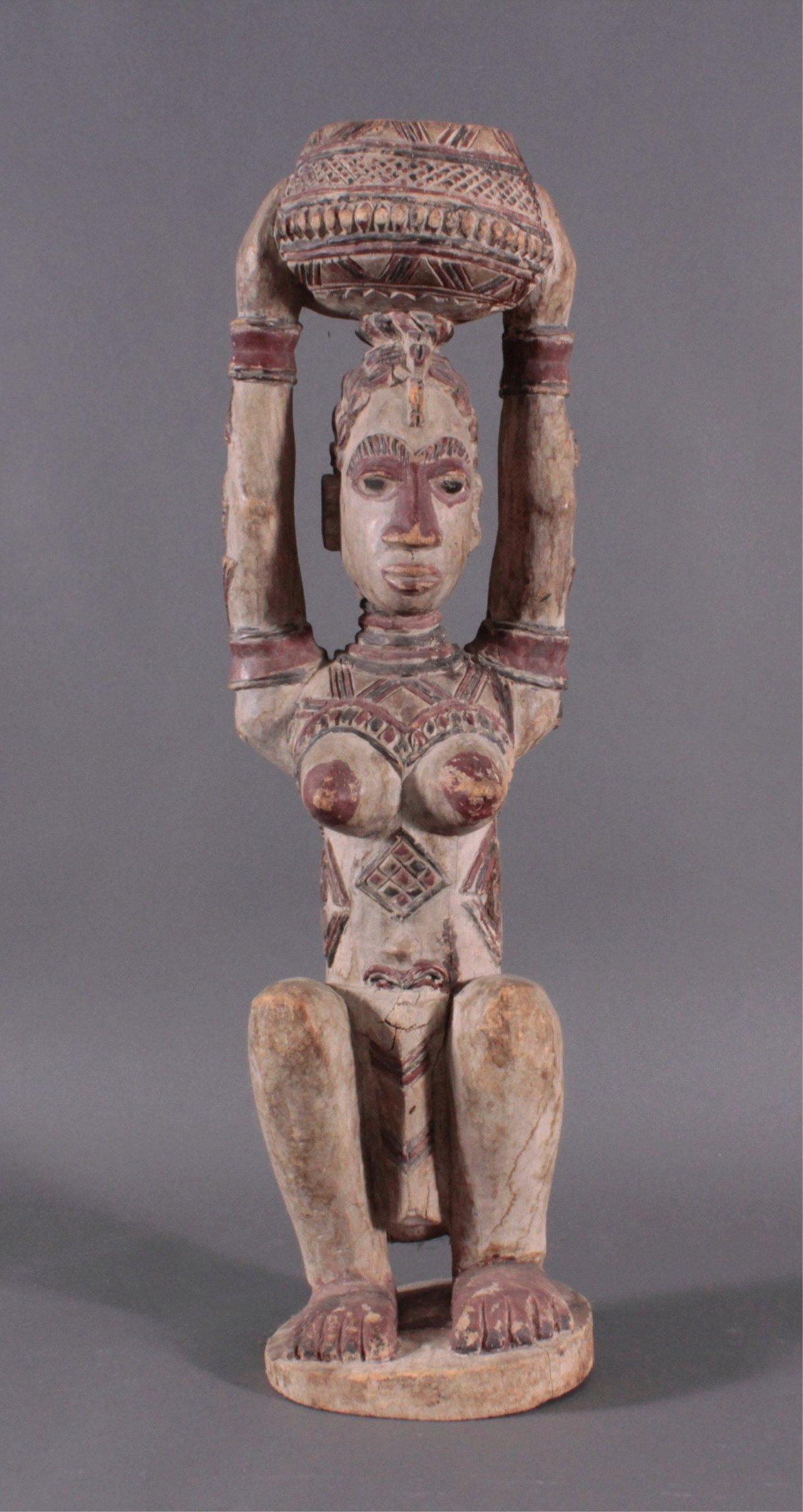 Weibliche Figur Afrika, 1. Häfte 20. Jahrhundert