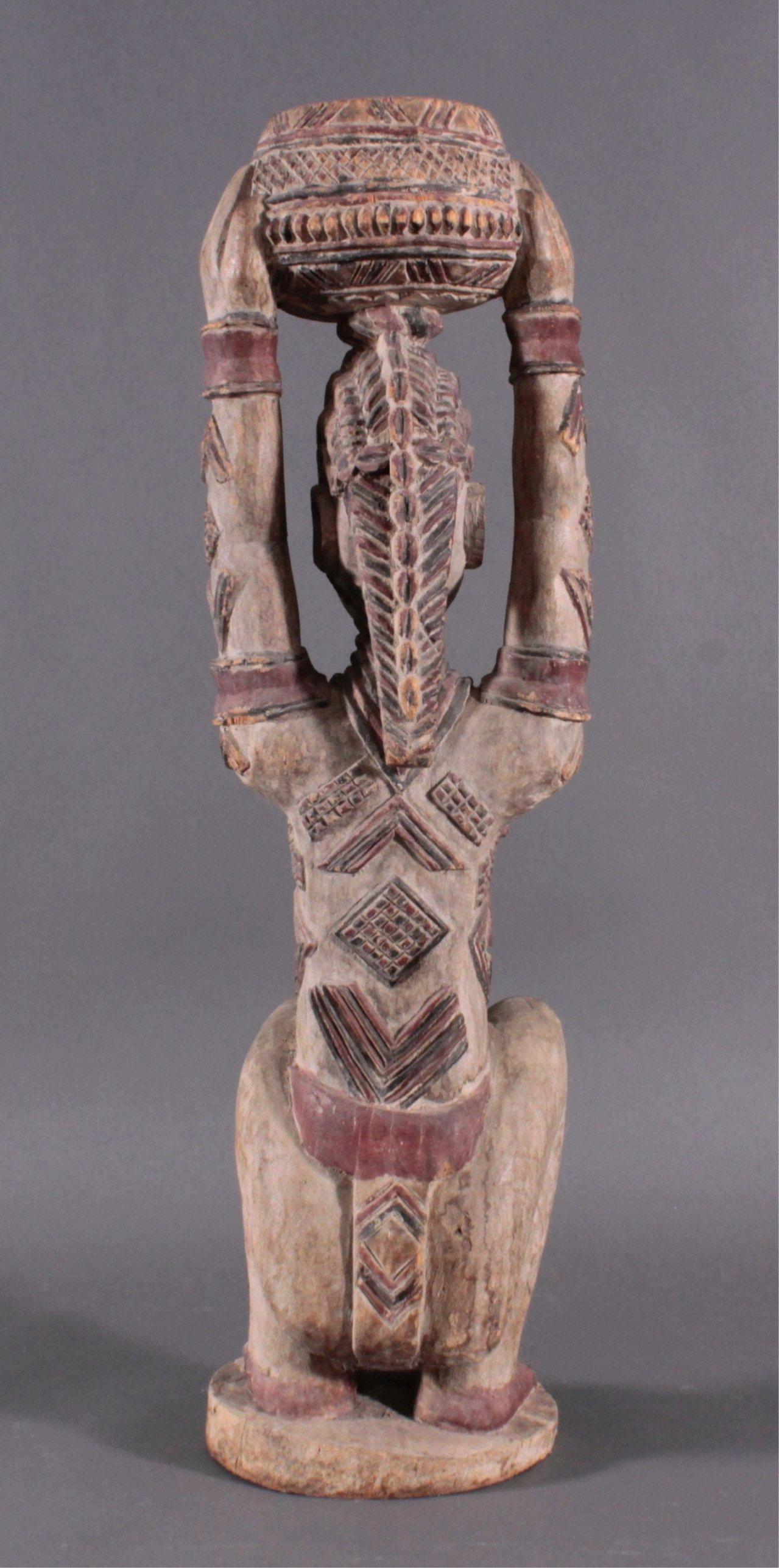 Weibliche Figur Afrika, 1. Häfte 20. Jahrhundert-2
