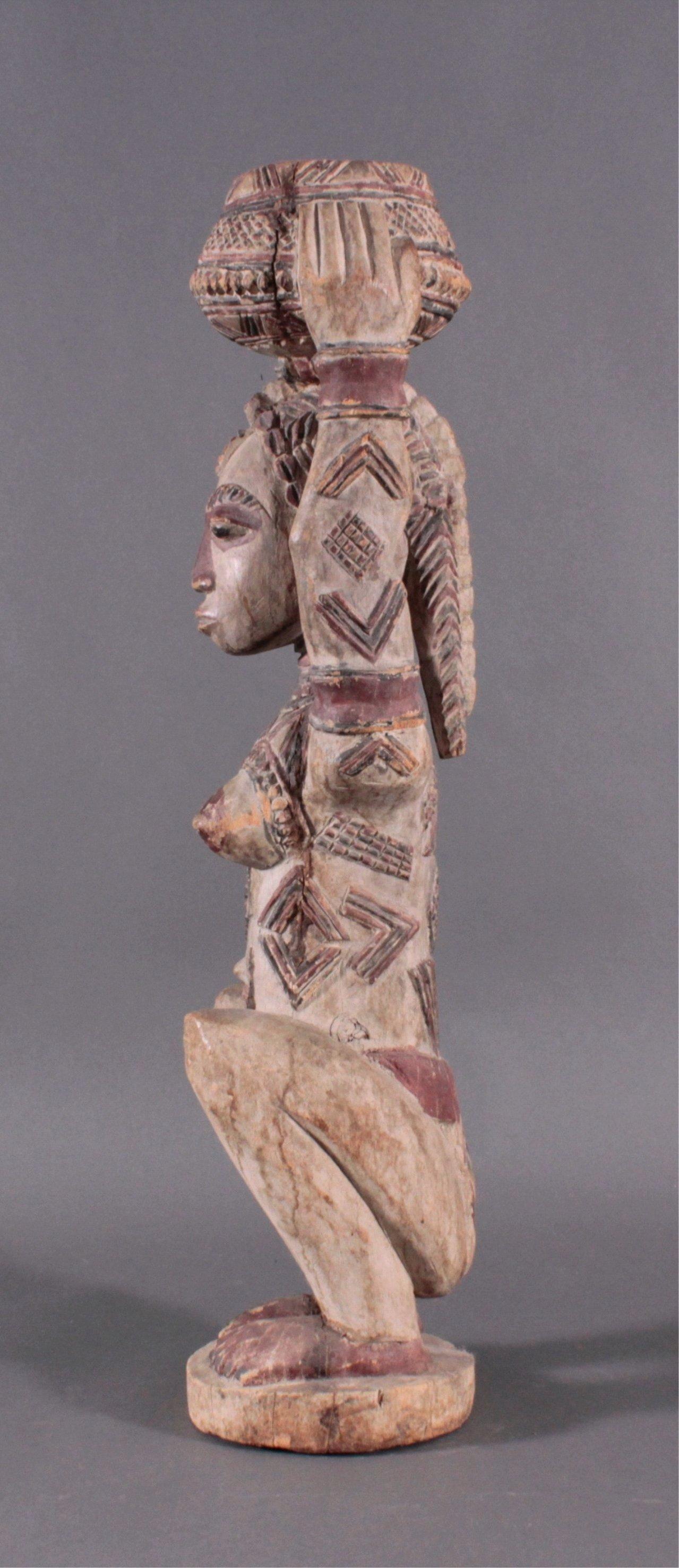 Weibliche Figur Afrika, 1. Häfte 20. Jahrhundert-3