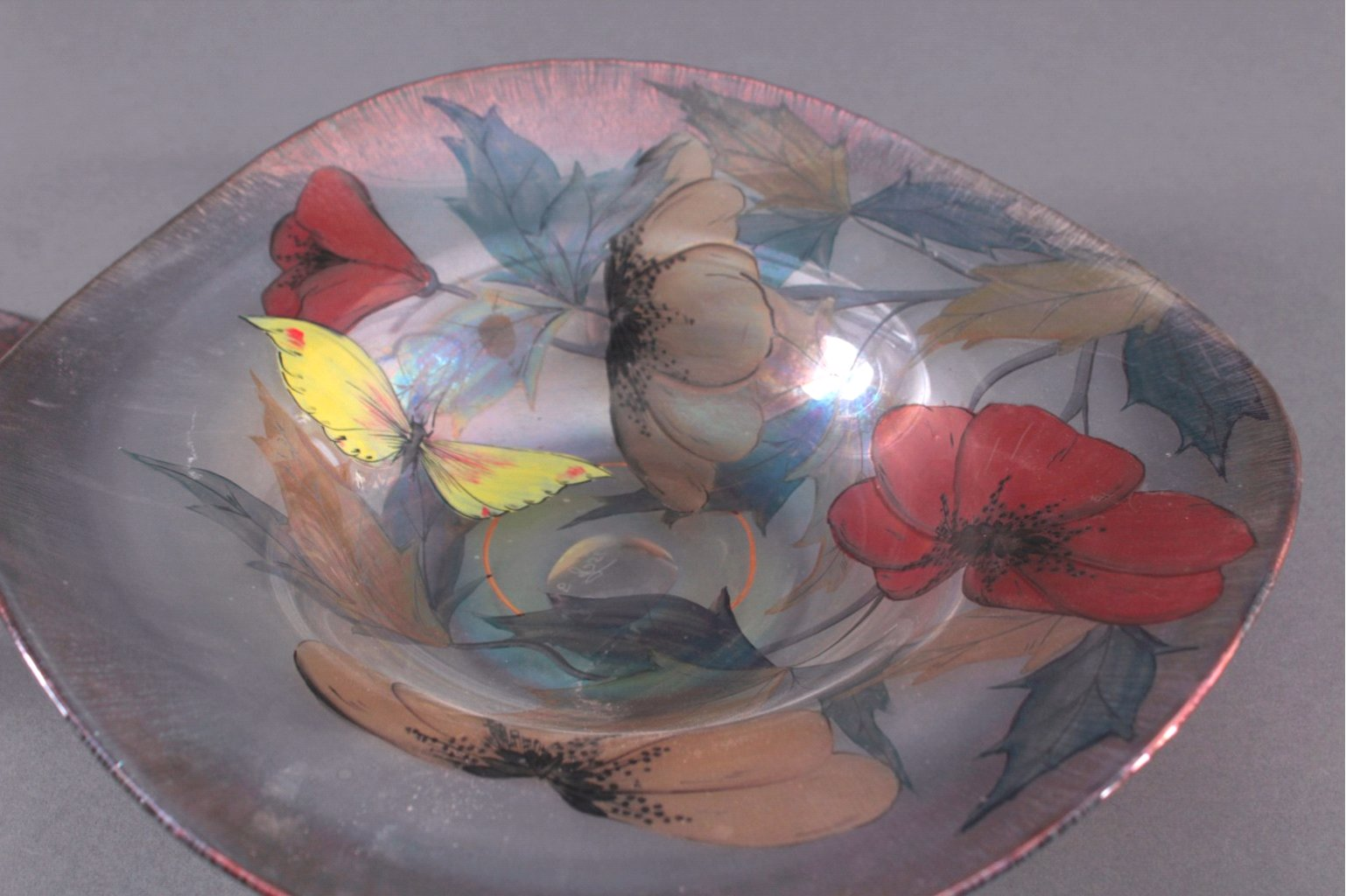 Glas Objekte, 3 Stück-2
