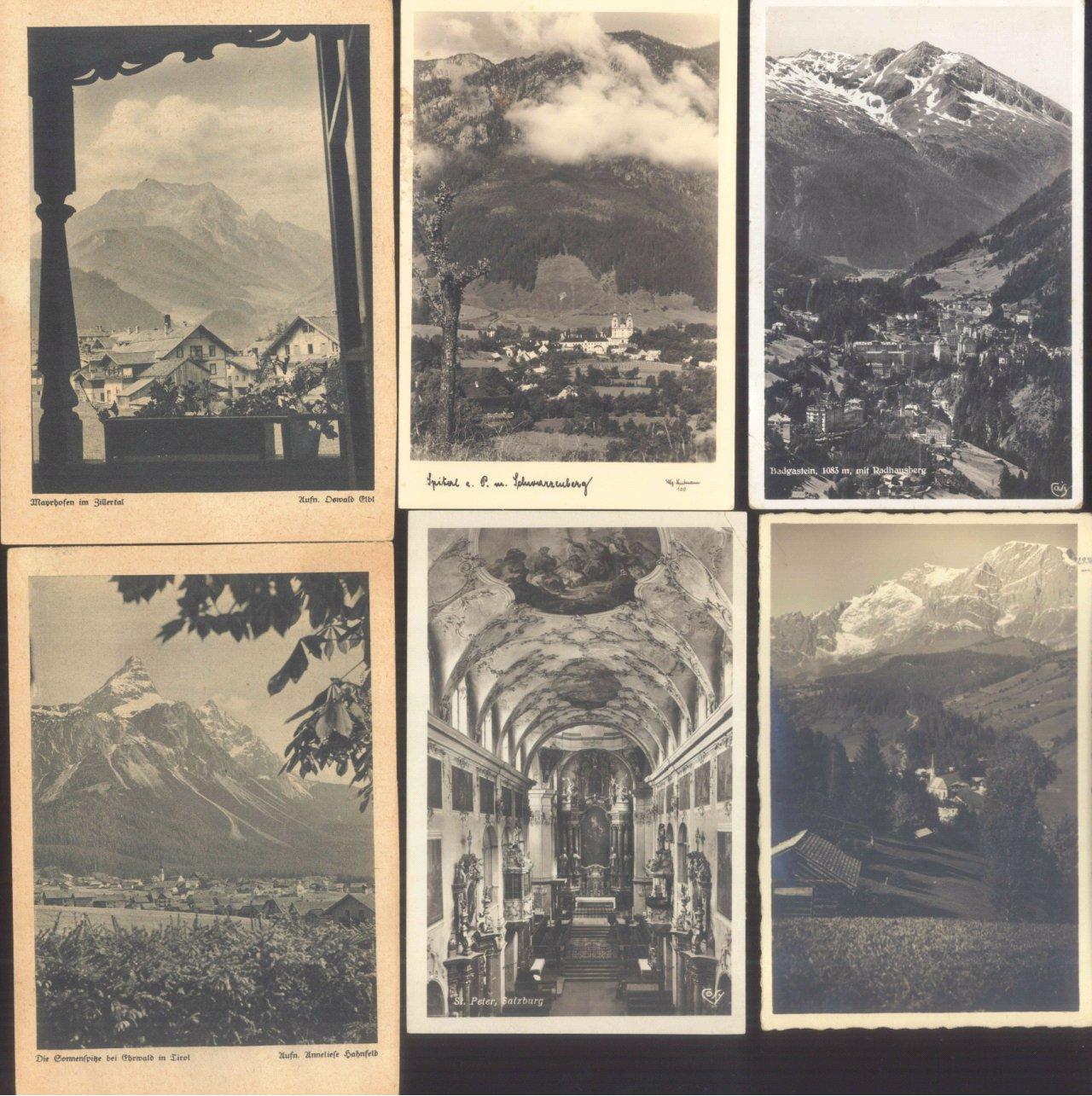 ÖSTERREICH Ansichtskarten Topographie 1902-1942-4