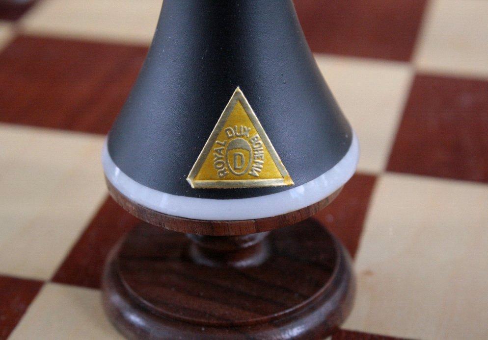 Schachspiel der Manufakutur Royal Dux Bohemia-2