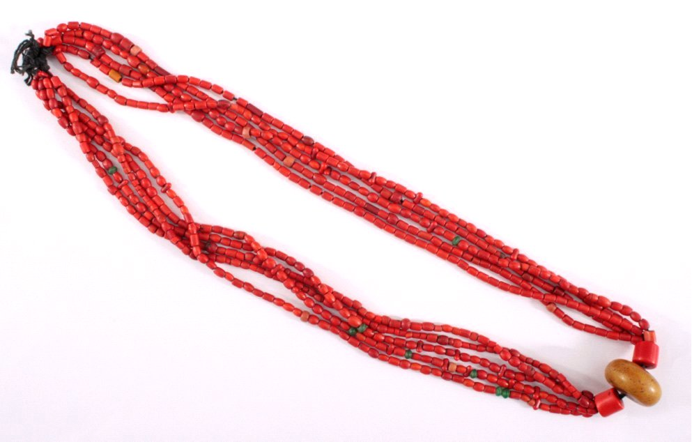Afrikanische Halskette, 1. Hälfte 20. Jh.