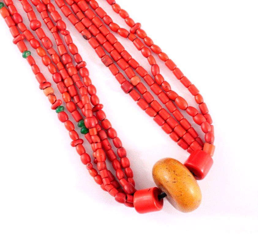 Afrikanische Halskette, 1. Hälfte 20. Jh.-1