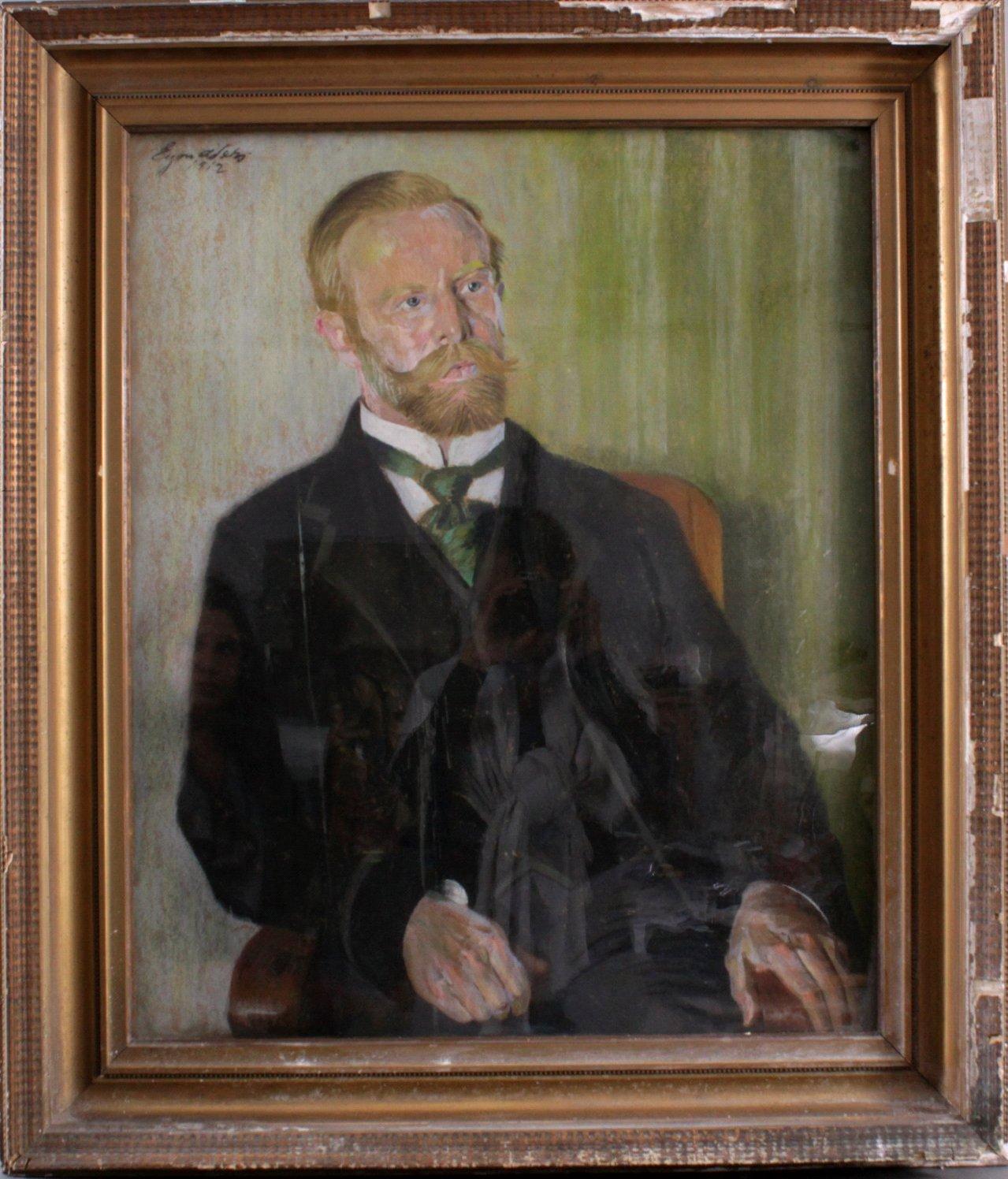Herrenportrait von 1912