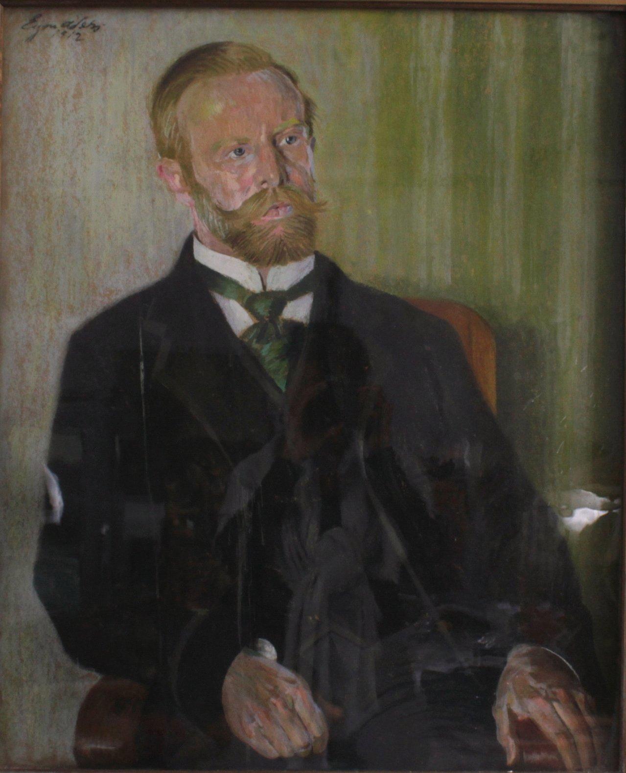 Herrenportrait von 1912-1