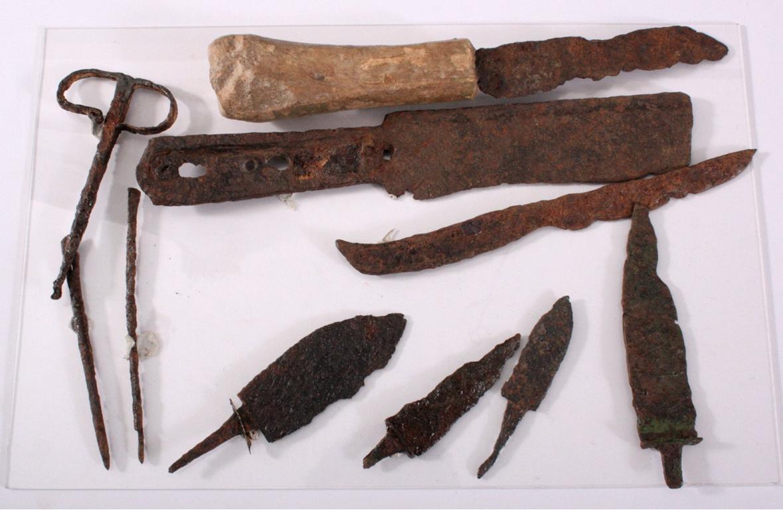Konvolut antikes Werkzeug