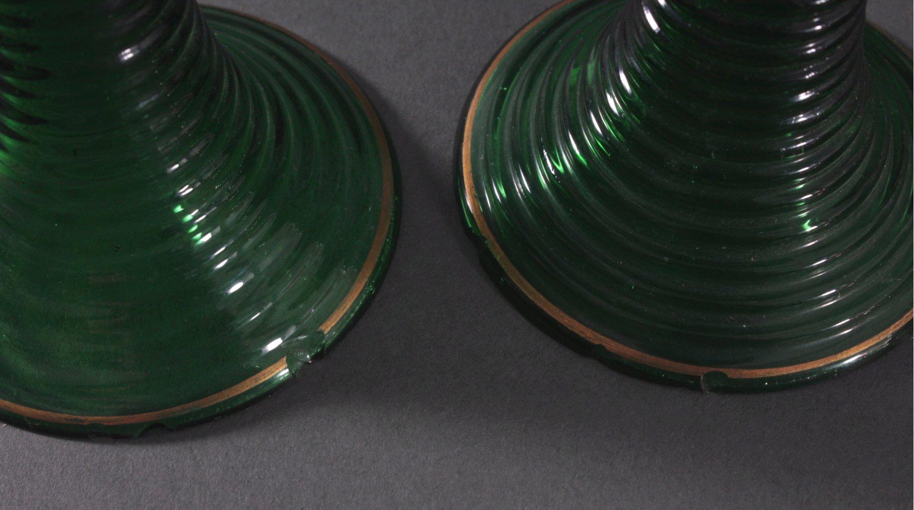 Konvolut Gläser zum Teil aus dem 19. Jahrhundert-3