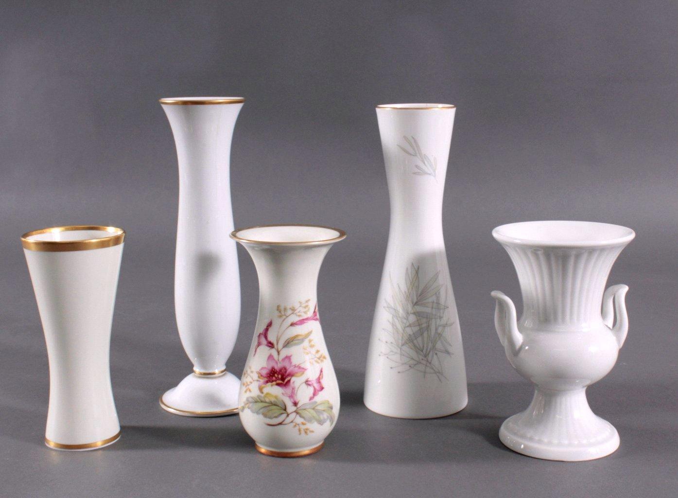Fünf Vasen, 20. Jh.