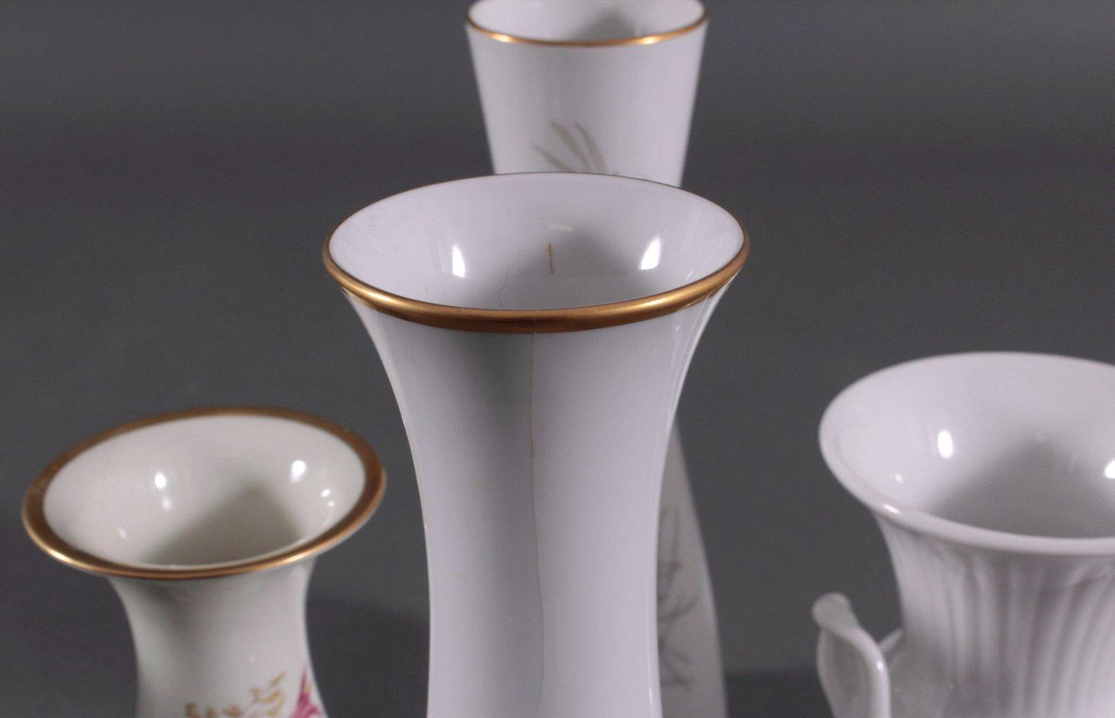 Fünf Vasen, 20. Jh.-1