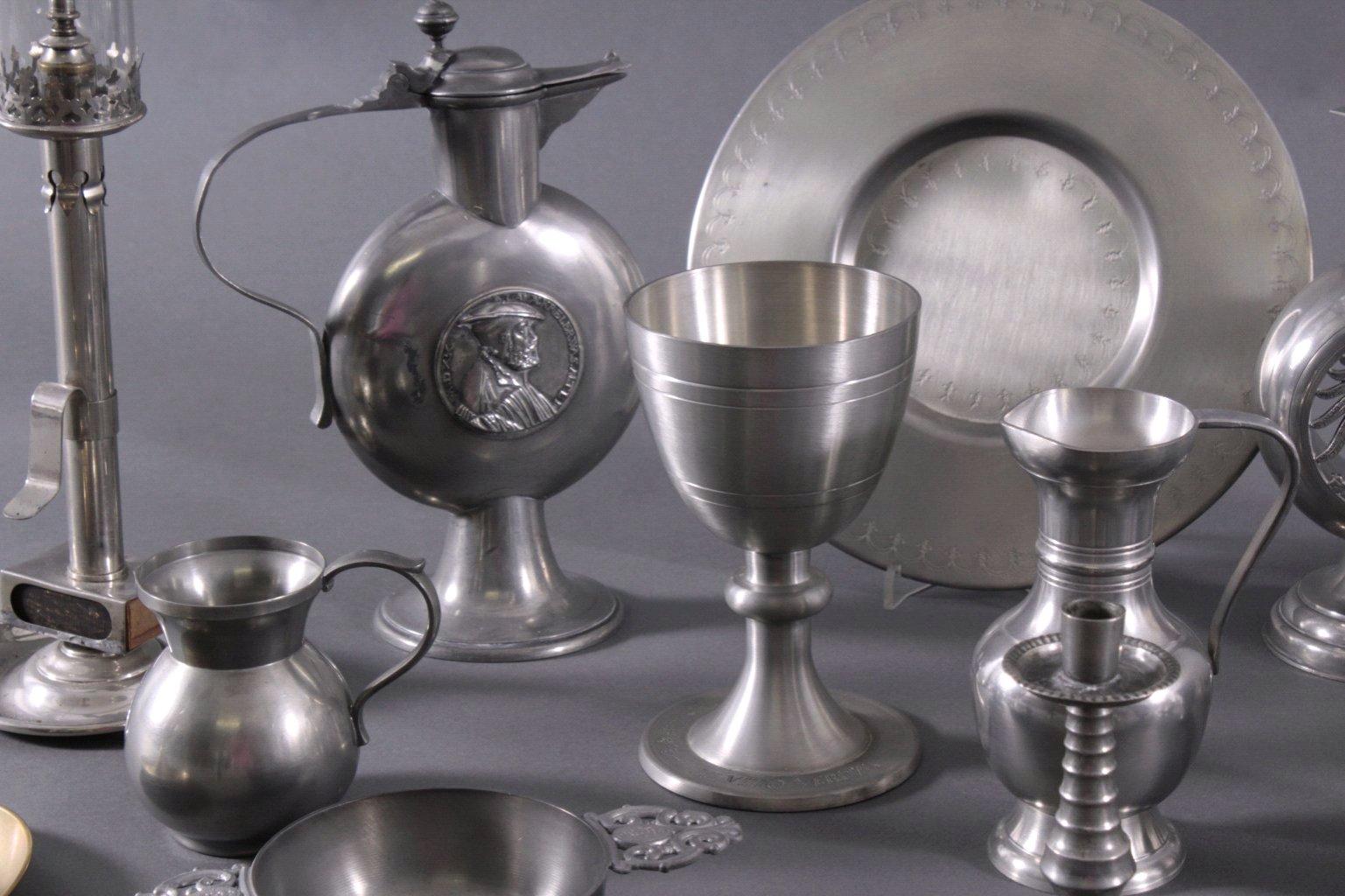 Konvolut dekoratives Zinn/Messing-1