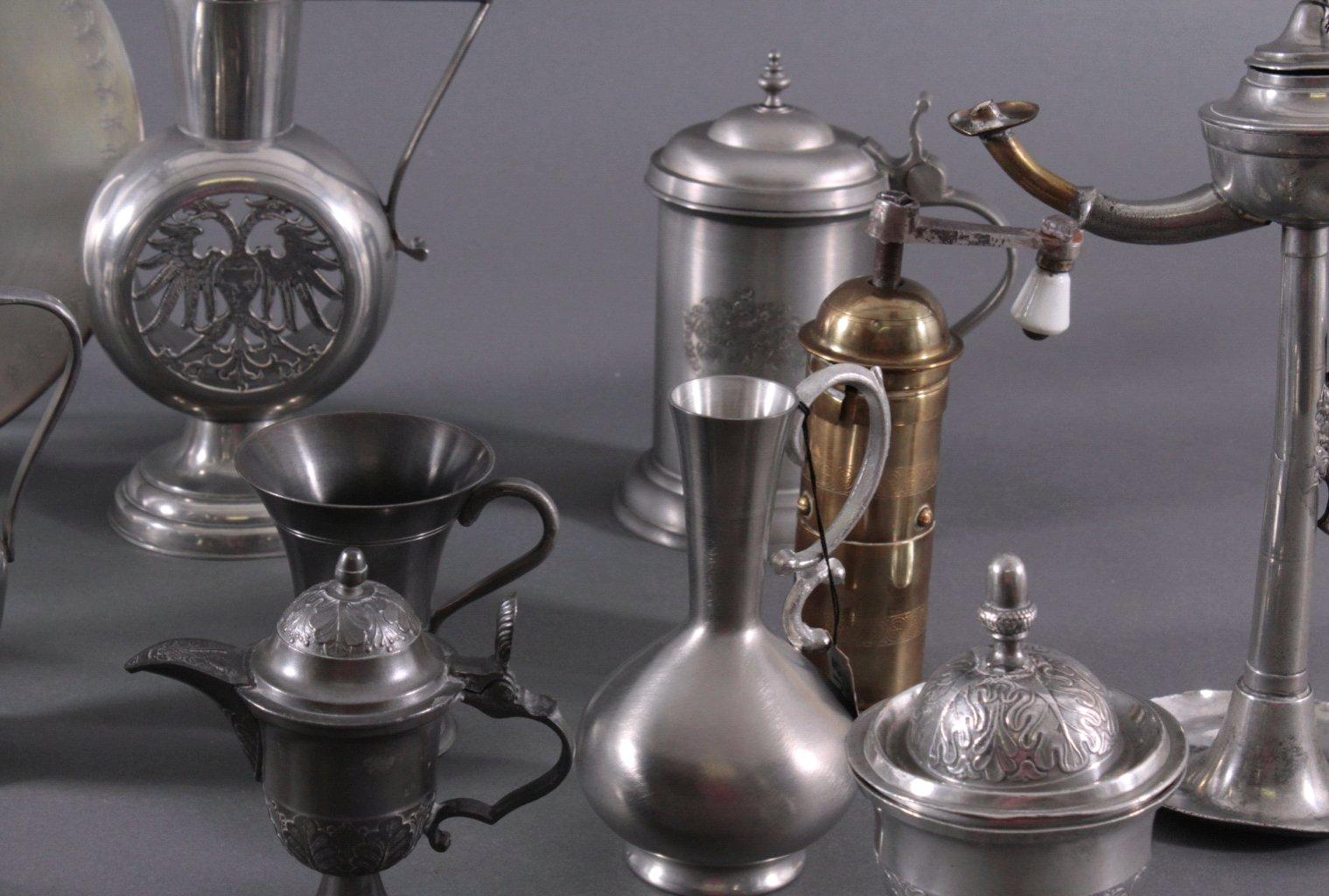 Konvolut dekoratives Zinn/Messing-2
