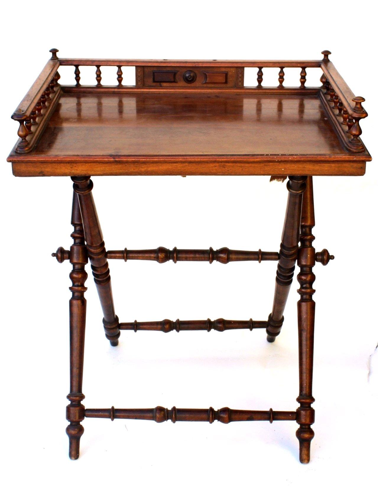 Gründerzeit Tisch-Tablett, um 1880