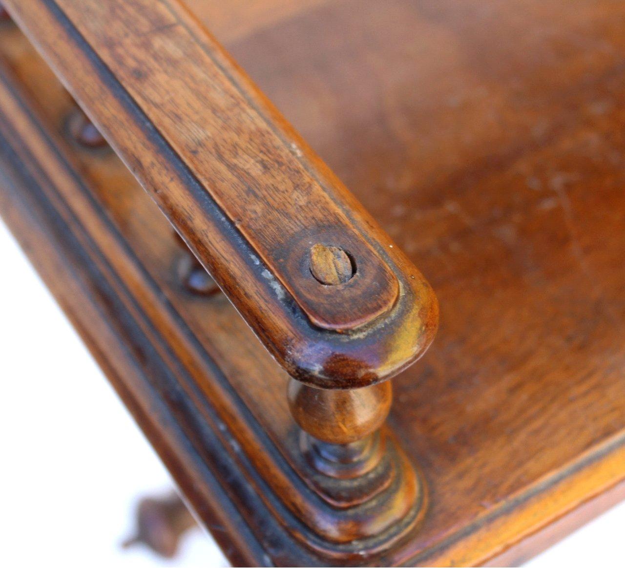 Gründerzeit Tisch-Tablett, um 1880-3