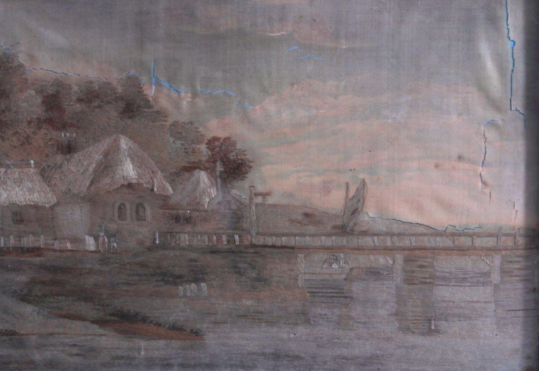 Seidenstickerei von 1809-1