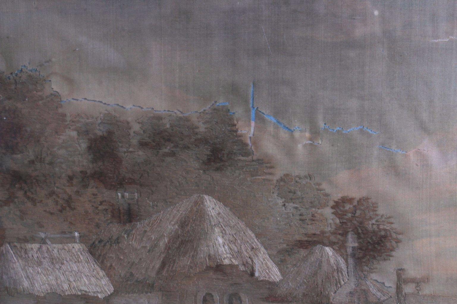 Seidenstickerei von 1809-2