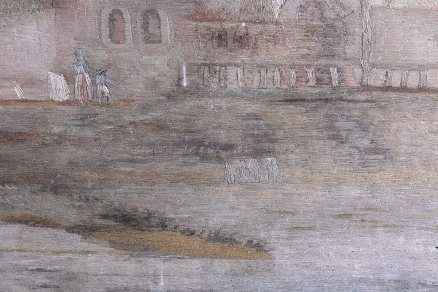 Seidenstickerei von 1809-5