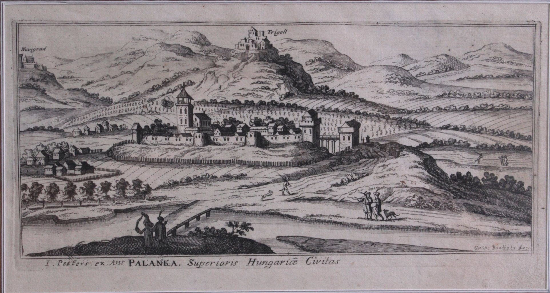 "Gaspar Bouttats (1640 Antwerpen 1695) ""Palanka""-1"