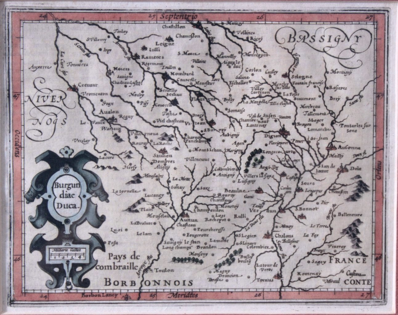 Altkolorierte Kupferstichkarten. Jan Janssonius (1588-1664)