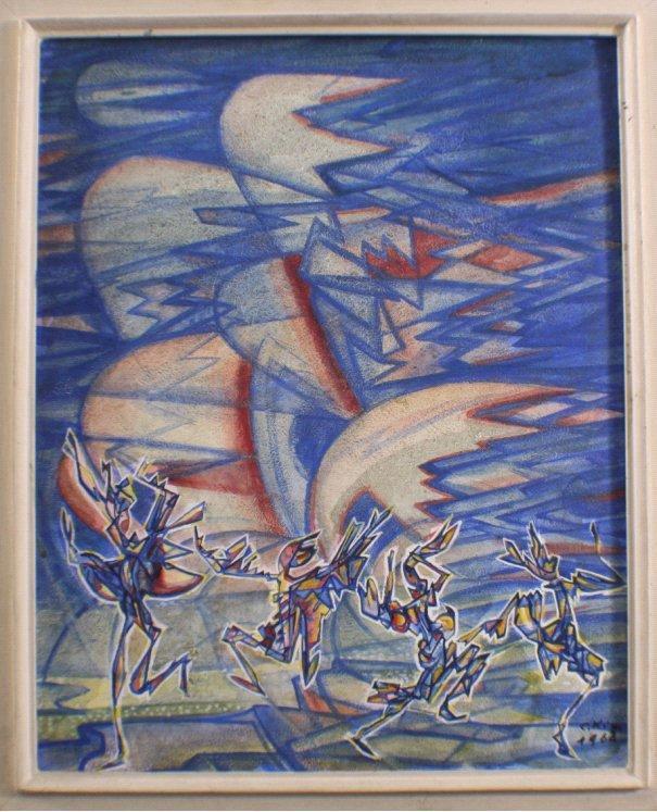 C. Kiwem. Unbekannter Künstler des 20. Jh.