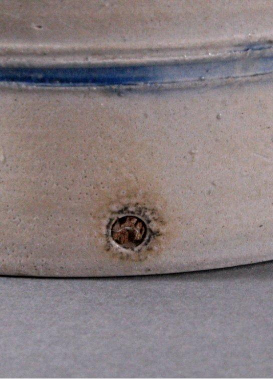 Antiker Blau-Topf, 19. Jh.-2