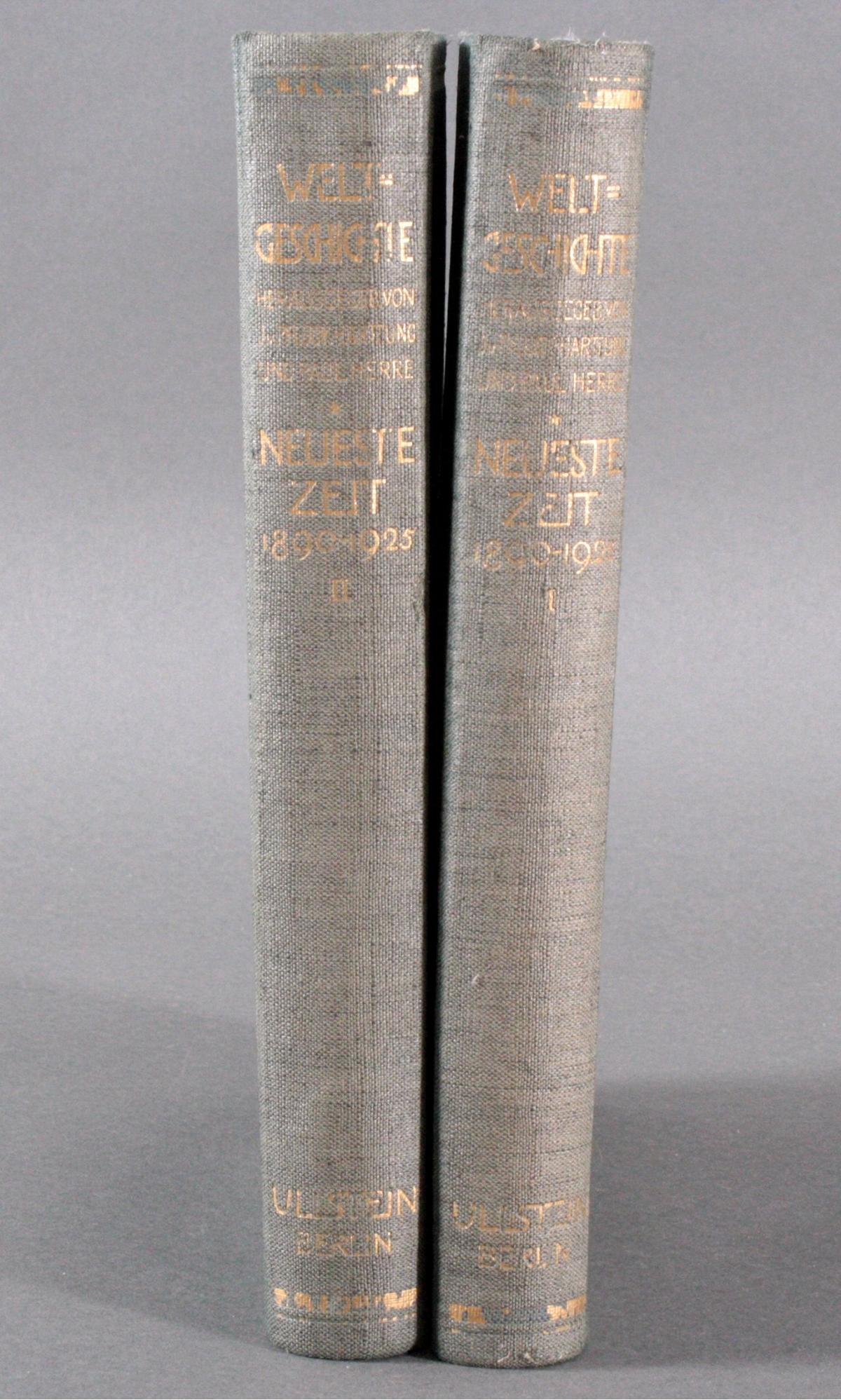 Ullsteins Weltgeschichte, neueste Zeit 1890 – 1925
