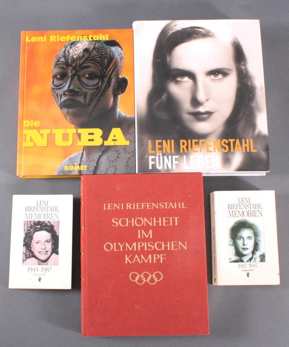 Leni Riefenstahl 1902 – 2003, 5 Bände