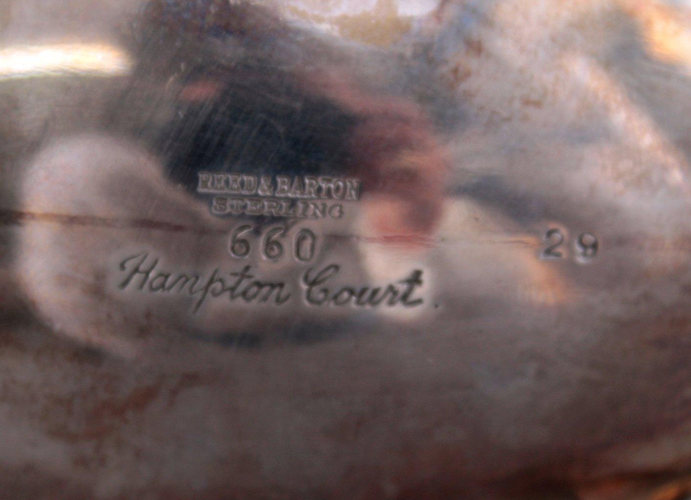 Teekanne um 1900, USA, Reed & Barton-4