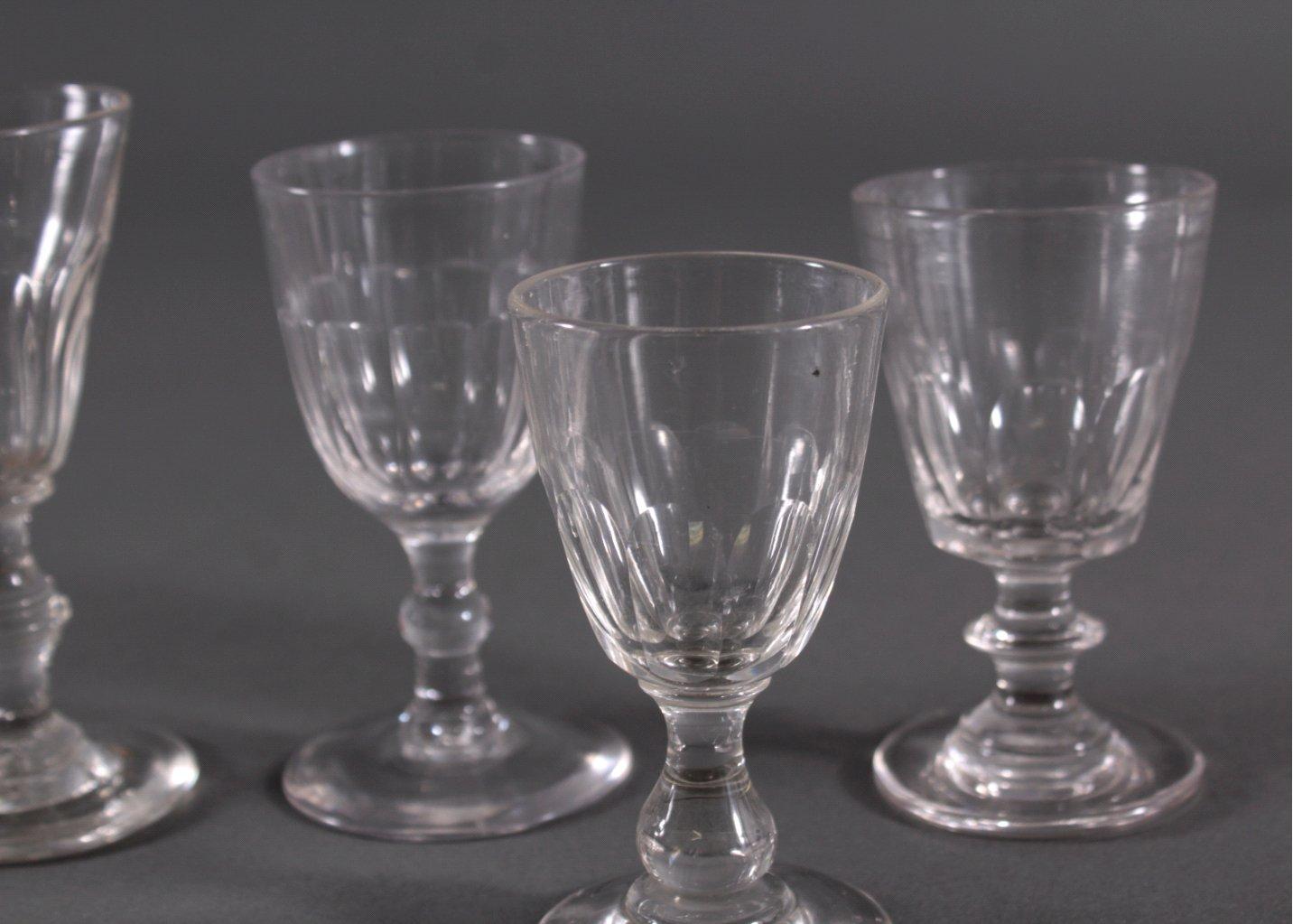 Sechs Gläser, 19. Jh.-2