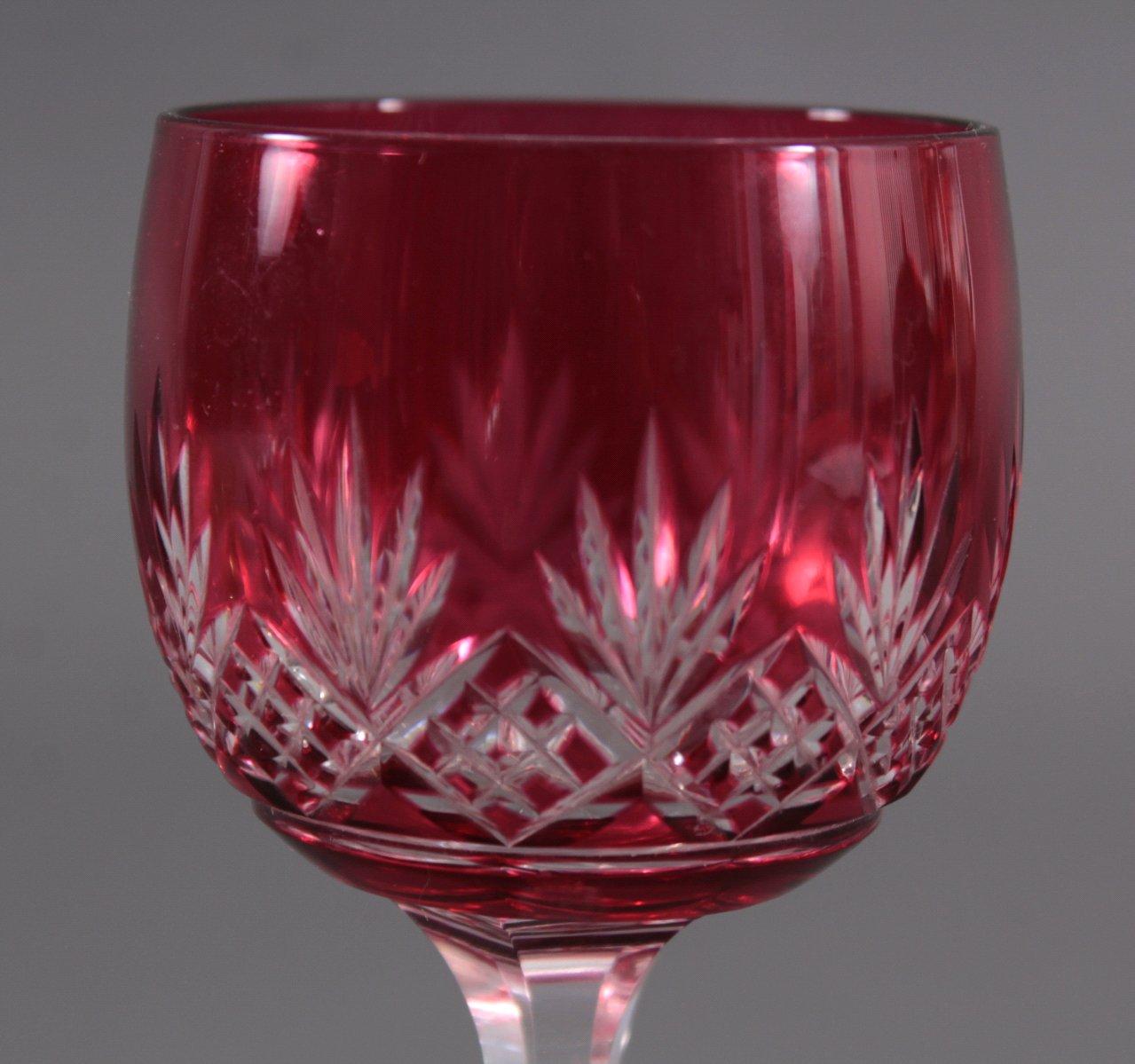 Art Deco Gläser, Wein und Likör-4