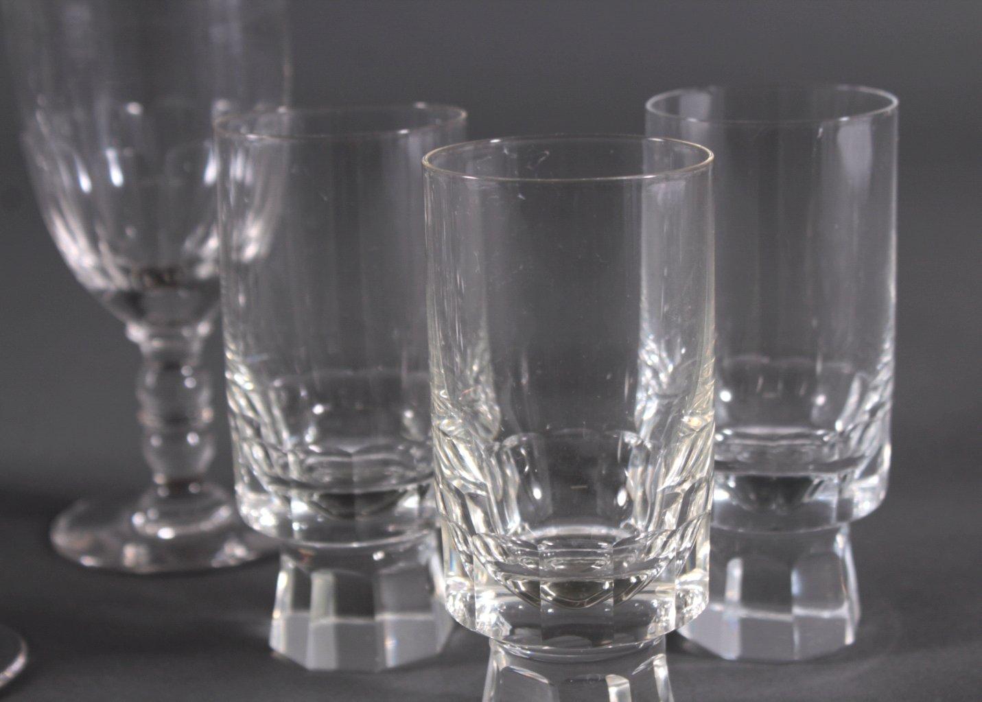 Zehn diverse Gläser, 19./20. Jh.-3