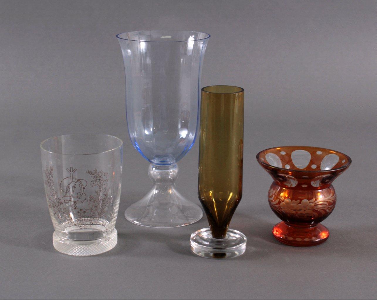 Vier Vasen, Art Déco