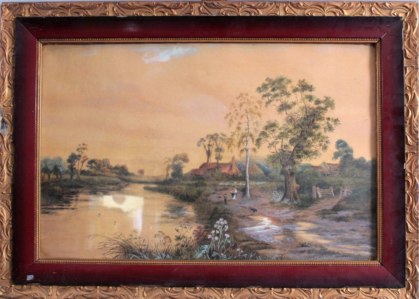 Aquarell 19. Jahrhundert