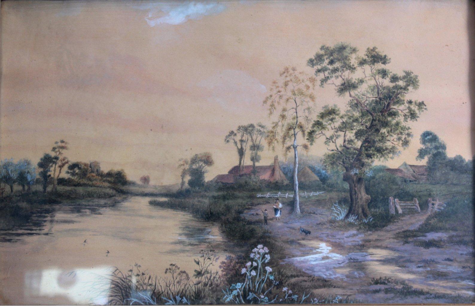 Aquarell 19. Jahrhundert-1